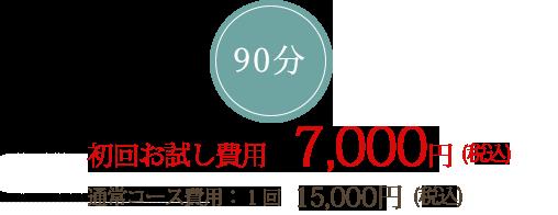 初回お試し価格 7,000円(税込)